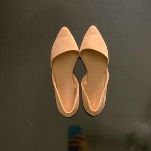 Size 9 1/2 flats, never worn